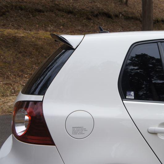 Garage vary reife golf mk5 rear spoiler motivejapan