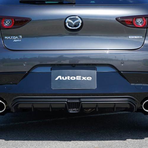 Autoexe Mazda3 BP (2019+) Rear Diffuser