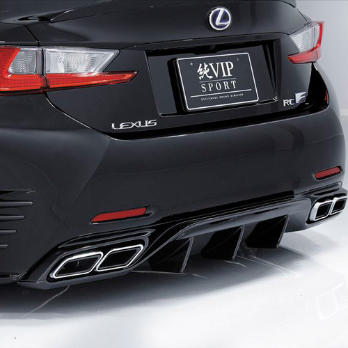 Aimgain L VIP Sport Type-2 Rear Diffuser for 2014+ Lexus RC