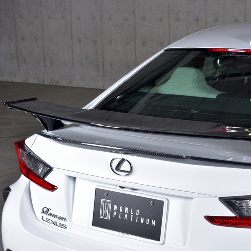 Rowen Lexus RC-F Low Mount Rear Wing