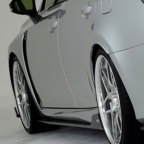 TOM'S Racing Carbon Fiber Side Diffusers for Lexus GS-F 2015+
