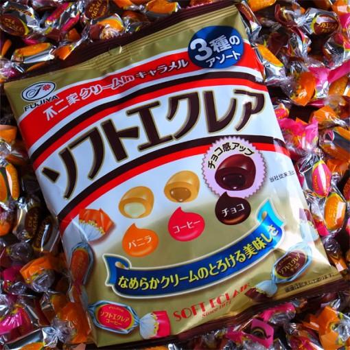 Soft Éclair Caramel Candies (3 pack)