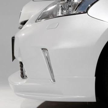 Garage Vary Front Lip Spoiler Toyota PRIUS 2011+