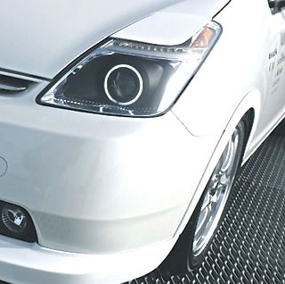 Garage Vary Eyelid set Toyota PRIUS 2004-2009