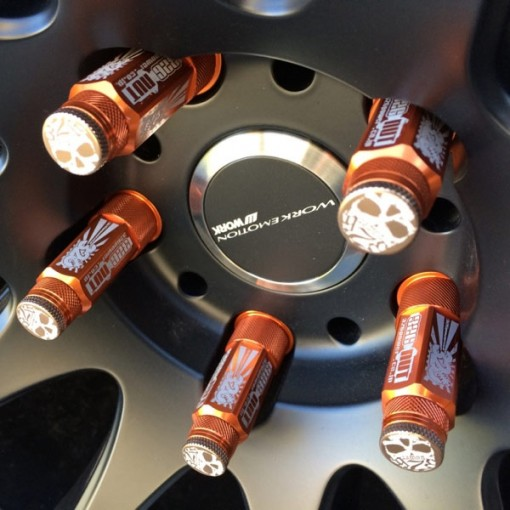326POWER 70MM Lug Nuts M12x1.5