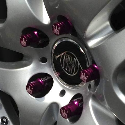 326POWER 50MM Lug Nuts M12x1.5