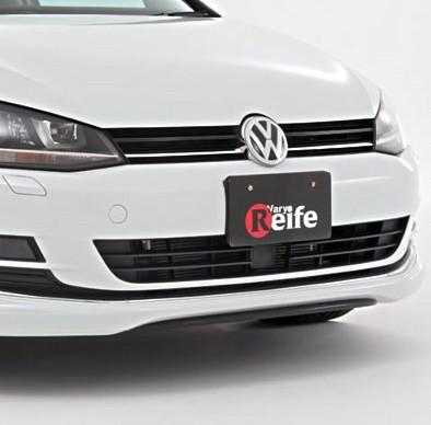 Garage Vary Reife Front Splitter VW Golf TSI MK7