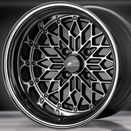 Glow Star Wheels MS-BC 15x5.5 (4x114.3 & 4x100)