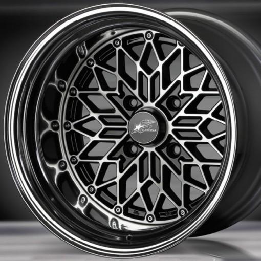 Glow Star Wheels MS-BC 15x9.5 (4x114.3 & 4x100)