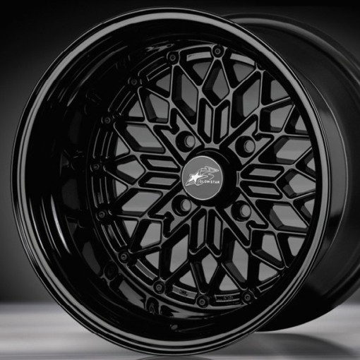 Glow Star Wheels MS-B 15x8.5 (4x114.3 & 4x100)