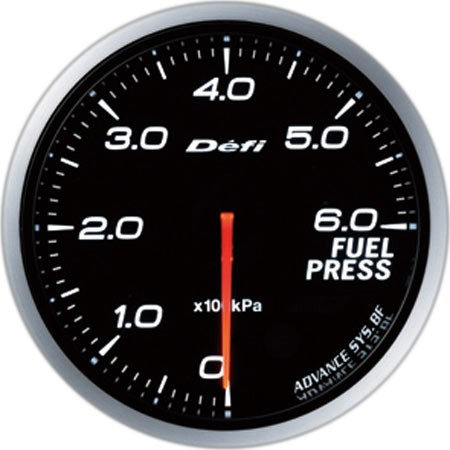 Defi-Link ADVANCE BF Fuel Pressure Gauge