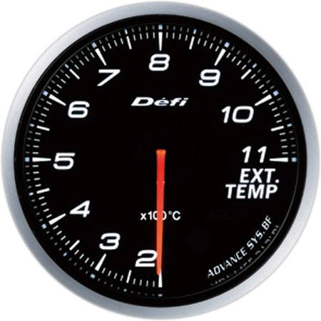 Defi-Link ADVANCE BF Exhaust Temperature Gauge