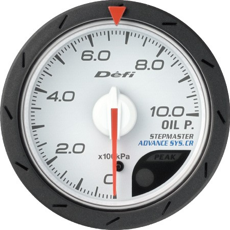 Defi-Link ADVANCE CR Oil Pressure Gauge