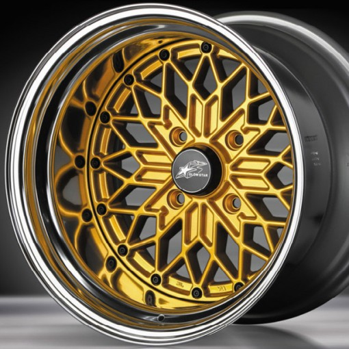 Glow Star Wheels MS-G 15x9.5 (4x114.3 & 4x100)