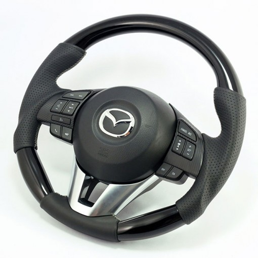 KenStyle (Type-2) Replacement Steering Wheel for 2015+ Mazda CX-3