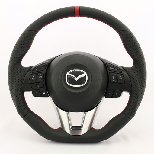 KenStyle Leather (Type4) Steering Wheel for 2015+ Mazda CX3