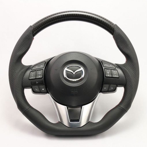 KenStyle Carbon (Type3) Steering Wheel for 2013+ Mazda CX5