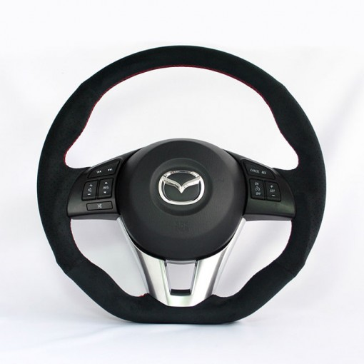 KenStyle (Type1) Steering Wheel for 2014+ Mazda2 (Demio)