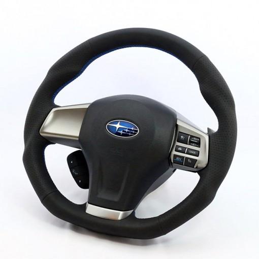 KenStyle Type-A Steering Wheel for 2011-2016 Subaru Impreza