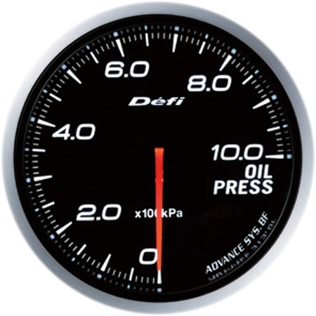 Defi-Link ADVANCE BF Oil Pressure Gauge