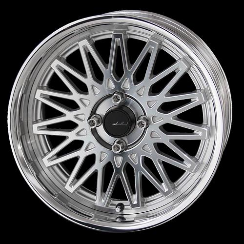 AME Shallen OSS Mesh Wheel 17x5.5 (4x100)