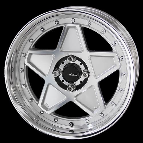 AME Shallen OSS Star Wheel 17x6 (4x100)