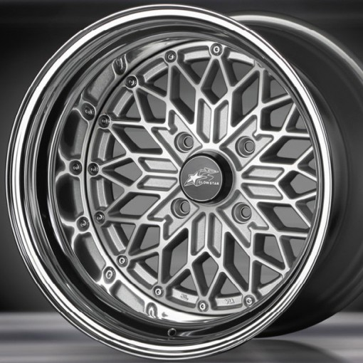 Glow Star Wheels MS-SC 15x5.5 (4x114.3 & 4x100)