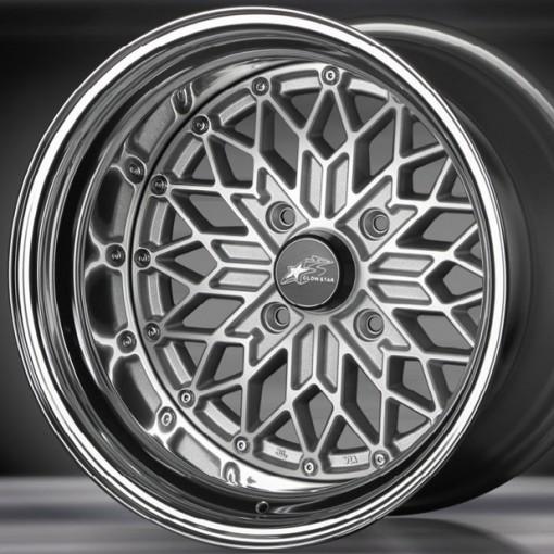 Glow Star Wheels MS-SC 15x6.5 (4x114.3 & 4x100)