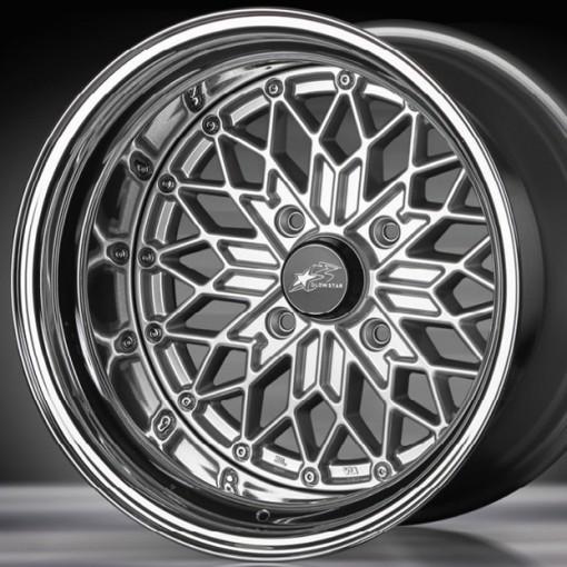 Glow Star Wheels MS-S 15x6 (4x114.3 & 4x100)