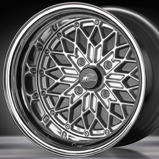 Glow Star Wheels MS-S 15x12 (4x114.3 & 4x100)