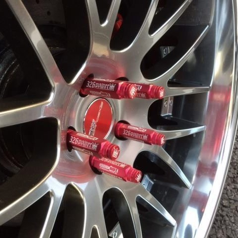 326POWER 90MM Lug Nuts M12x1.25