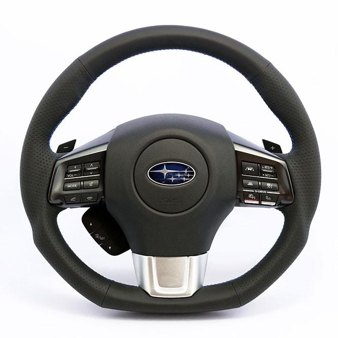 kenstyle b type steering wheel for 2014 subaru wrx sti. Black Bedroom Furniture Sets. Home Design Ideas
