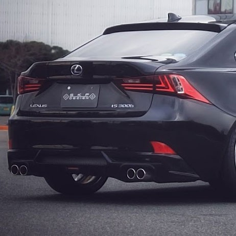 skipper lexus is250 is350 rear diffuser motivejapan. Black Bedroom Furniture Sets. Home Design Ideas