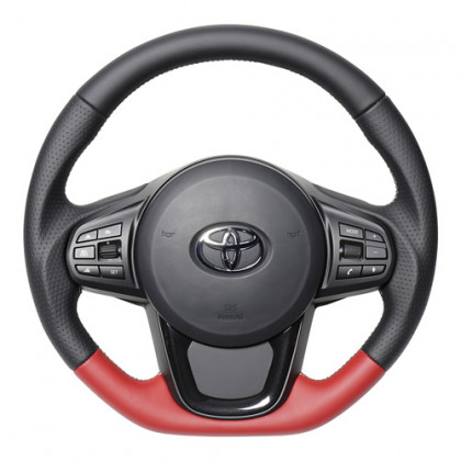 Real Nappa Leather Steering Wheel for Toyota Supra (2020-2021) A90