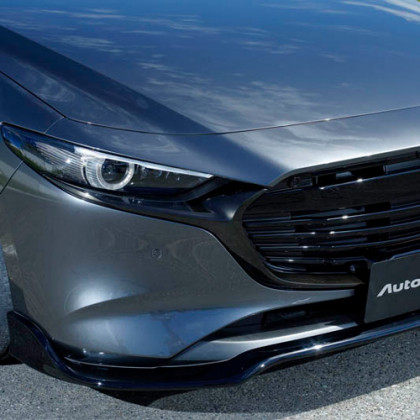 Autoexe Mazda3 BP (2019+) Front Lip (Under Spoiler)