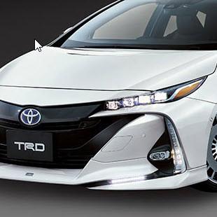 TRD Front Lip Spoiler for Toyota PRIUS PHV (ZVW52) 2017+