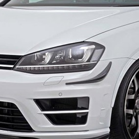 Garage Vary Reife Bumper Canards VW Golf R MK7