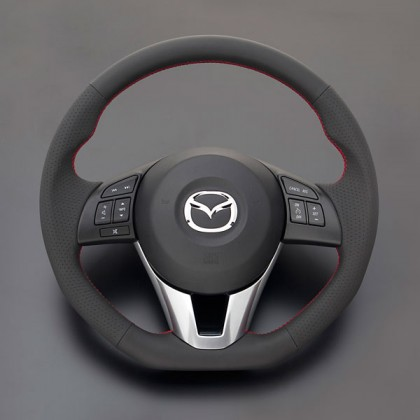 Autoexe Steering Wheel for 2014+ Mazda2 (Demio)