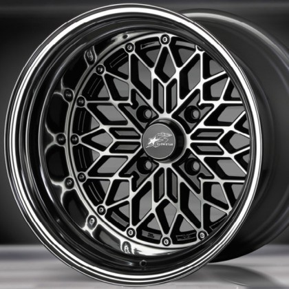 Glow Star Wheels MS-BC 15x12 (4x114.3 & 4x100)
