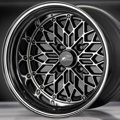 Glow Star Wheels MS-BC 15x12 (4x114.3 & 4x100)