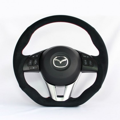 KenStyle (Type-1) Steering Wheel for 2013+ Mazda3 (Axela)