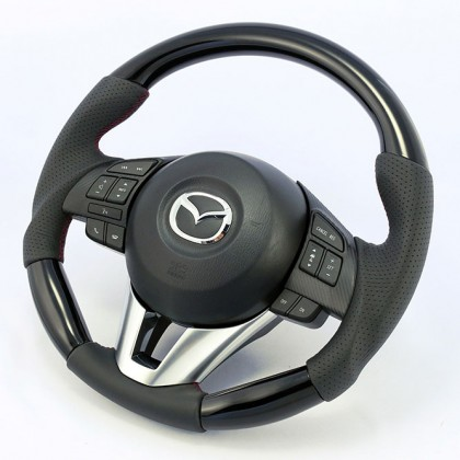 KenStyle (Type-2) Replacement Steering Wheel for 2013+ Mazda3 (Axela)