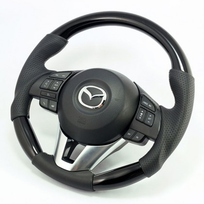 KenStyle (Type2) Replacement Steering Wheel for 2014+ Mazda2 (Demio)