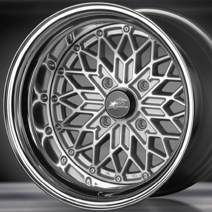 Glow Star Wheels MS-SC 15x8.5 (4x114.3 & 4x100)