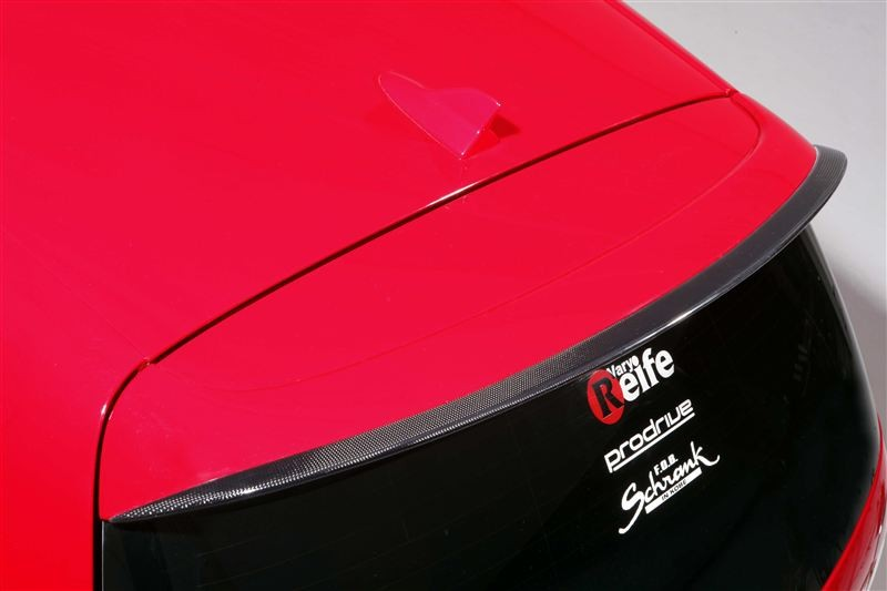 Garage Vary Reife Golf Mk5 Rear Spoiler Motivejapan