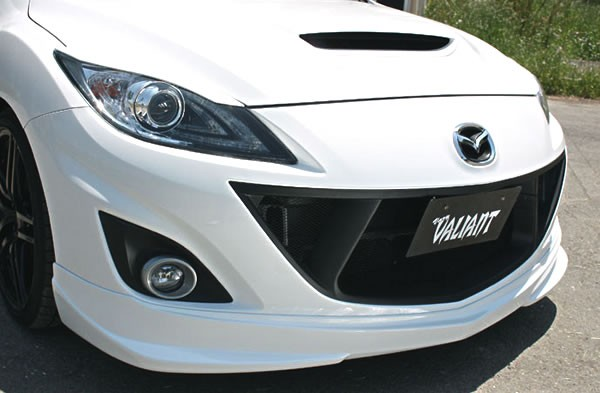 Garage Vary Front Grille For Mazdaspeed 3 Axela 2010 2013